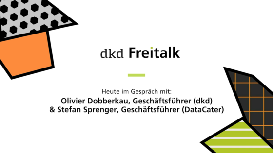 Inspiration dkd Freitalk DataCater Technik